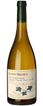 Saxon Brown Wines |Chardonnay Sangiacomo Vineyard '14